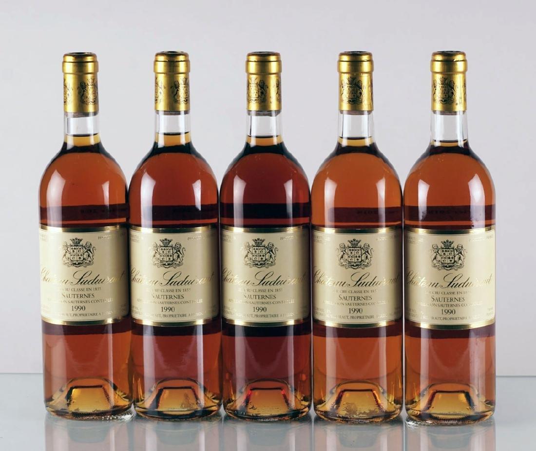 Château Suduiraut 1990 - 5 bouteilles