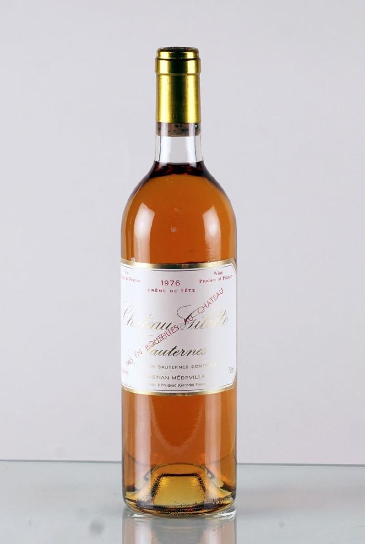Château Gilette Crème de Tête 1976 - 1 bouteille