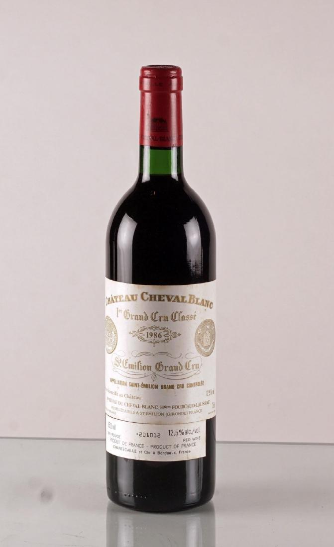 Château Cheval Blanc 1986 - 1 bouteille