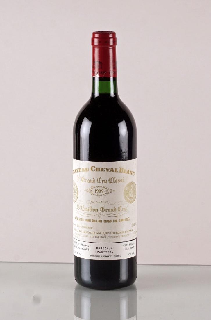 Château Cheval Blanc 1989 - 1 bouteille