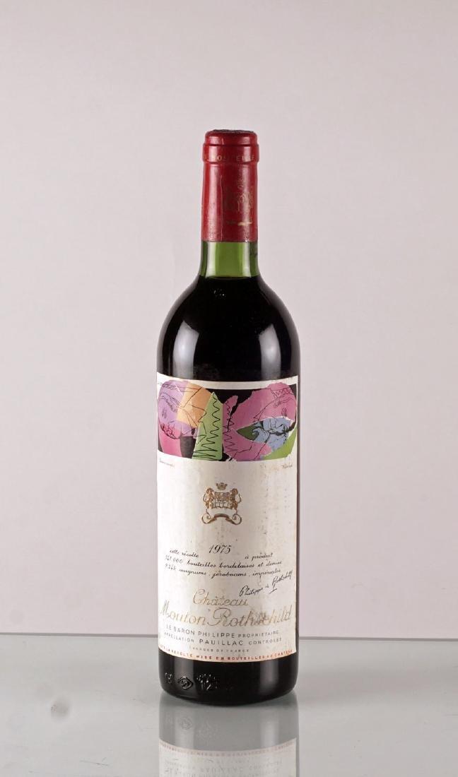 Château Mouton Rothschild 1975 - 1 bouteille