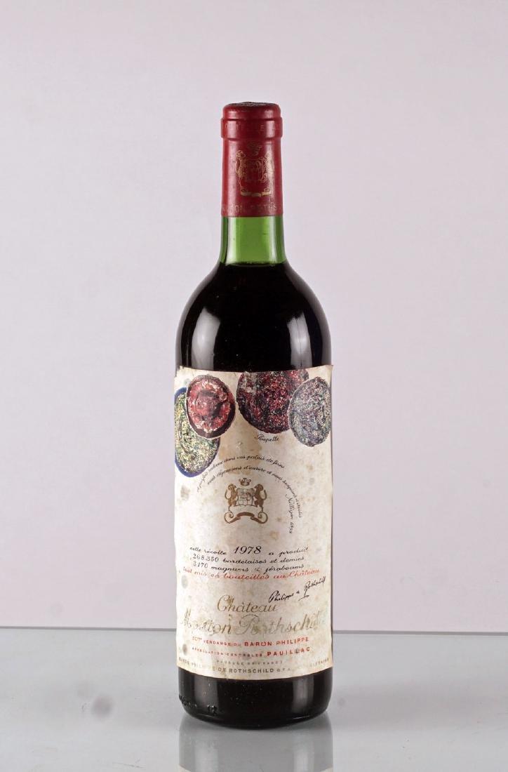 Château Mouton Rothschild 1978 - 1 bouteille