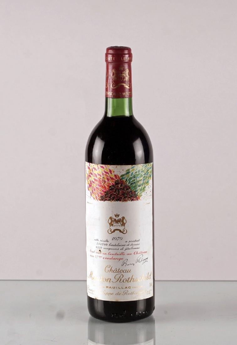 Château Mouton Rothschild 1979 - 1 bouteille