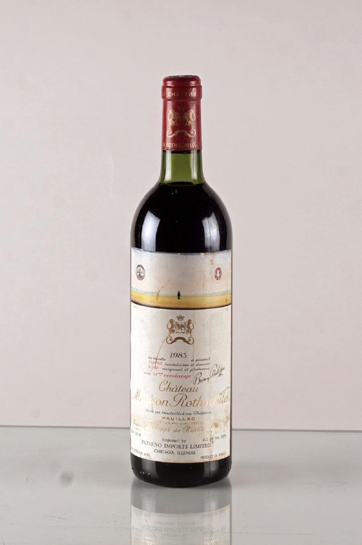 Château Mouton Rothschild 1983 - 1 bouteille