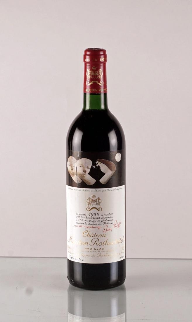 Château Mouton Rothschild 1986 - 1 bouteille