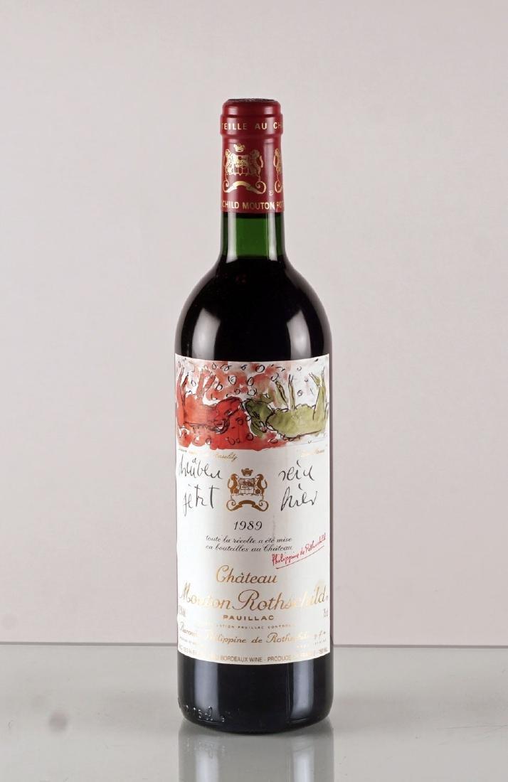 Château Mouton Rothschild 1989 - 1 bouteille