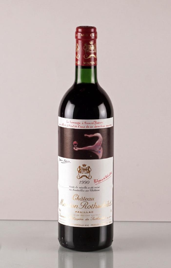 Château Mouton Rothschild 1990 - 1 bouteille
