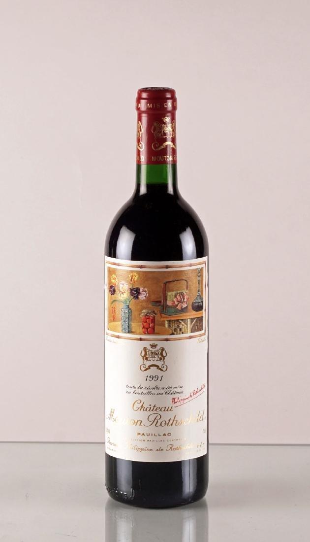 Château Mouton Rothschild 1991 - 1 bouteille