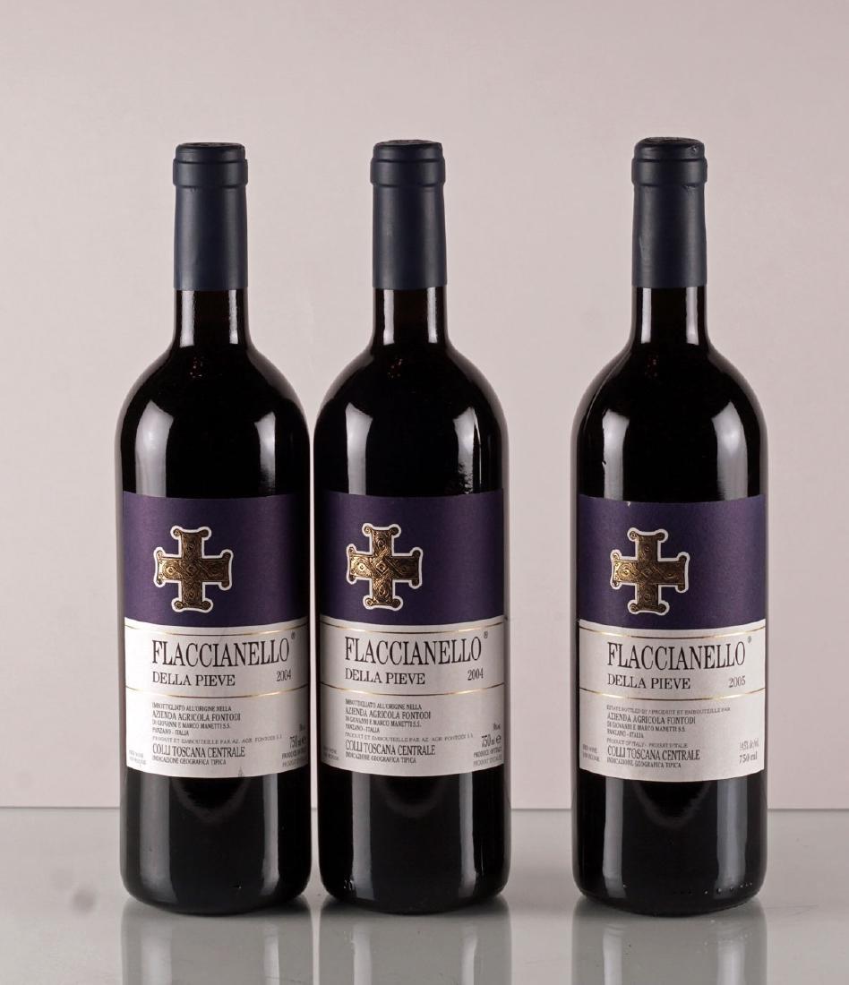 Flaccianello della Pieve 2004 & 2005 - 3 bouteilles