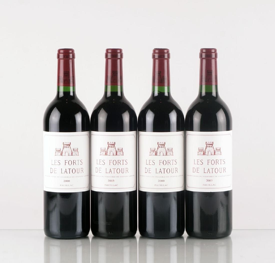 Les Forts de Latour 2000 & 2003 - 4 bouteilles