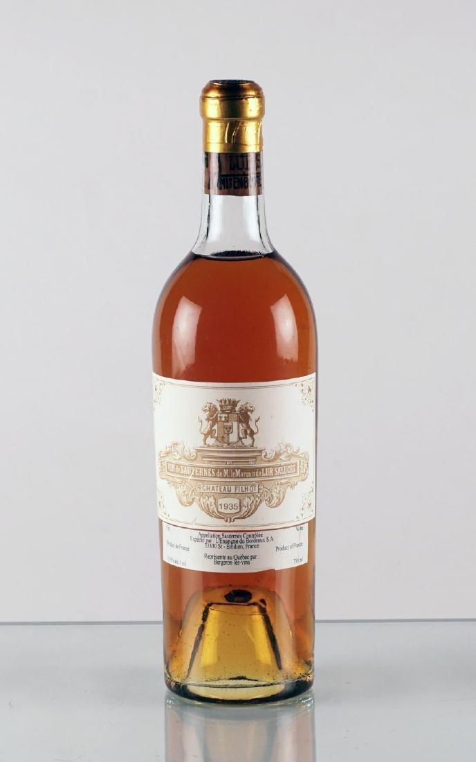 Château Filhot 1935 - 1 bouteille