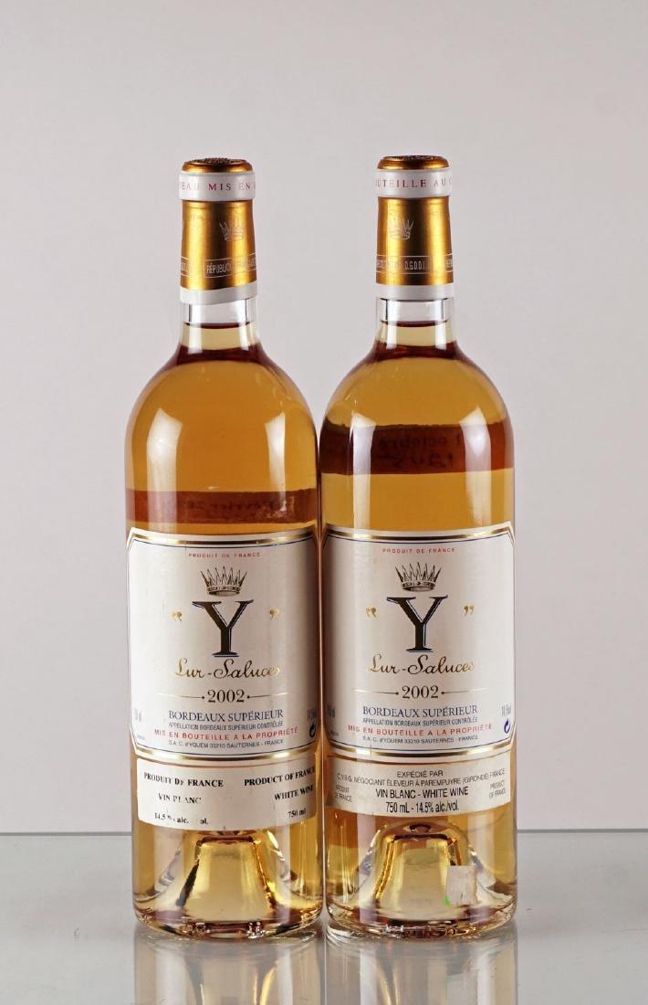 Y de Yquem 2002 - 2 bouteilles