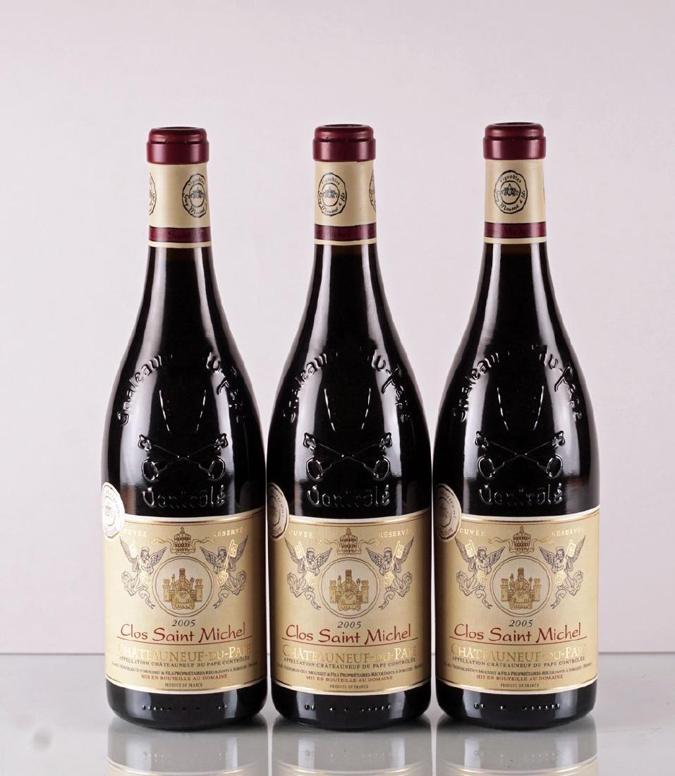 Clos Saint Michel 2005 - 3 bouteilles