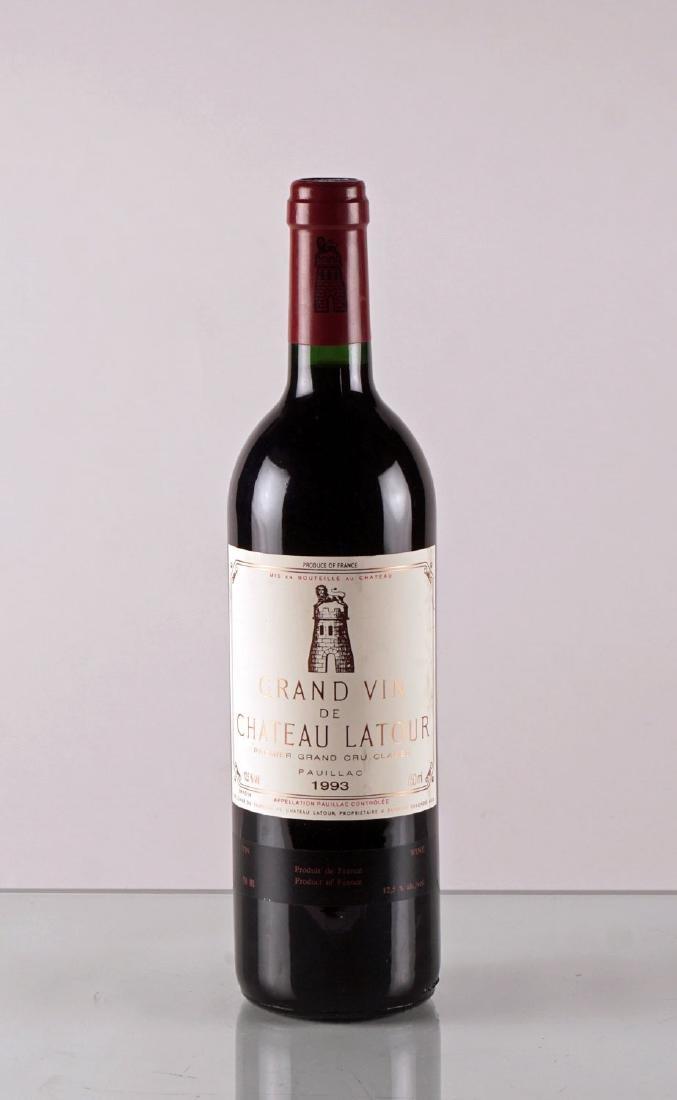 Grand Vin de Château Latour 1993 - 1 bouteille