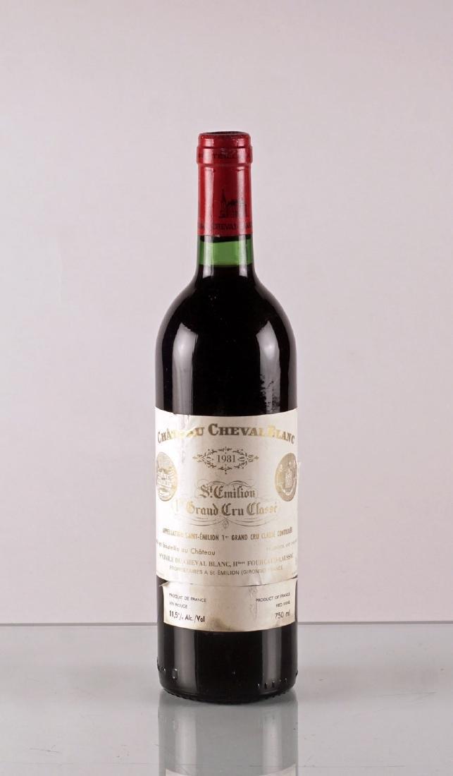 Château Cheval Blanc 1981 - 1 bouteille