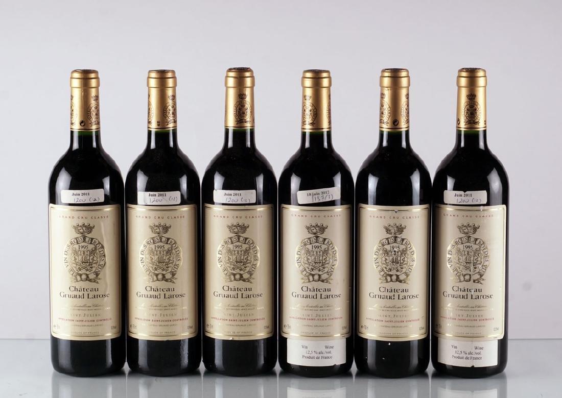Château Gruaud-Larose 1995 - 6 bouteilles