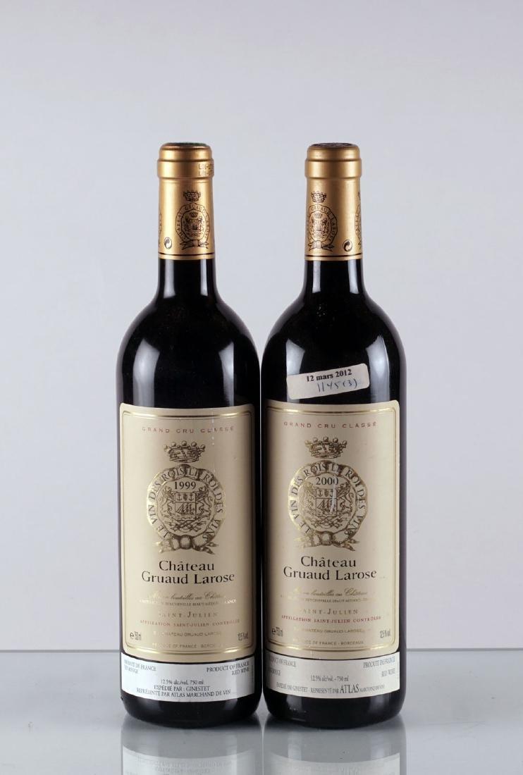 Château Gruaud-Larose 1999 & 2000 - 2 bouteilles