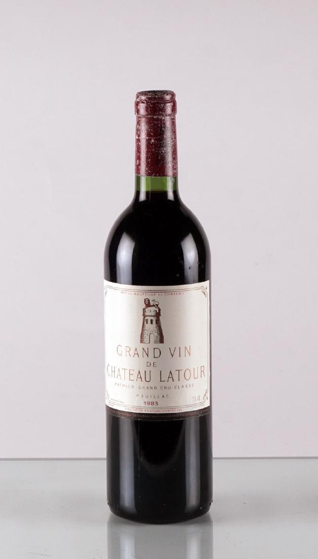 Grand Vin de Château Latour 1983 - 1 bouteille