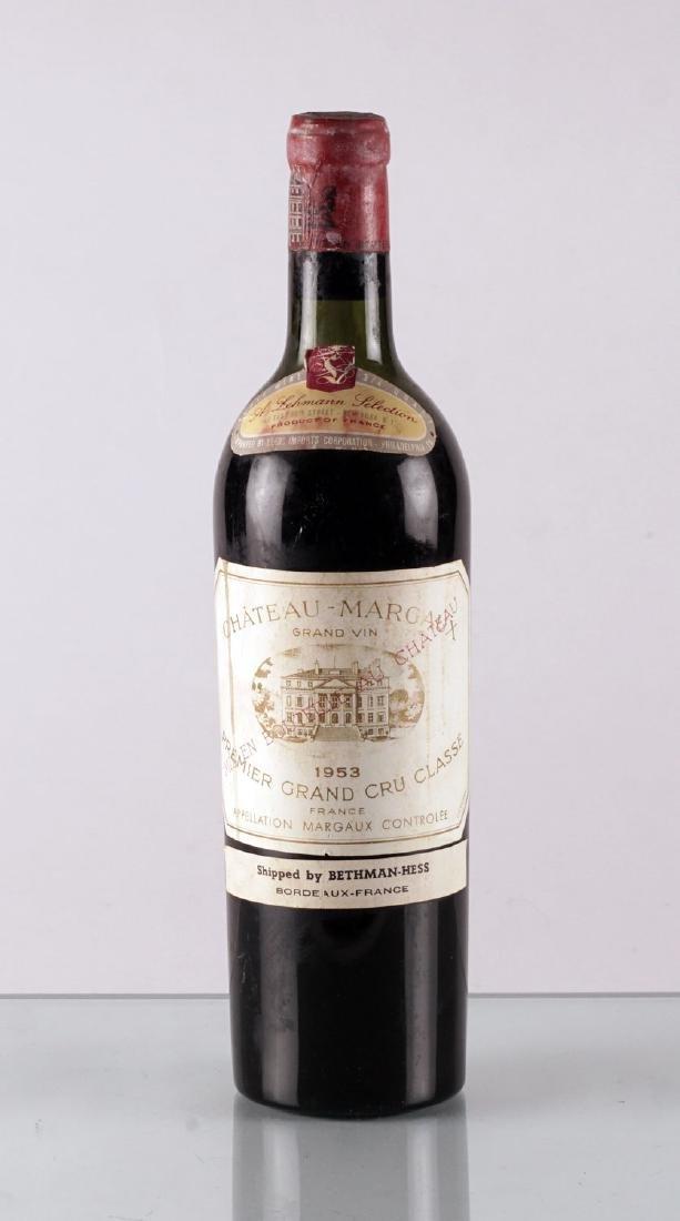 Château Margaux 1953 - 1 bouteille