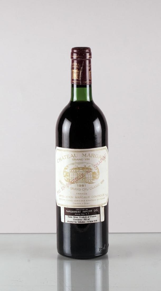 Château Margaux 1981 - 1 bouteille