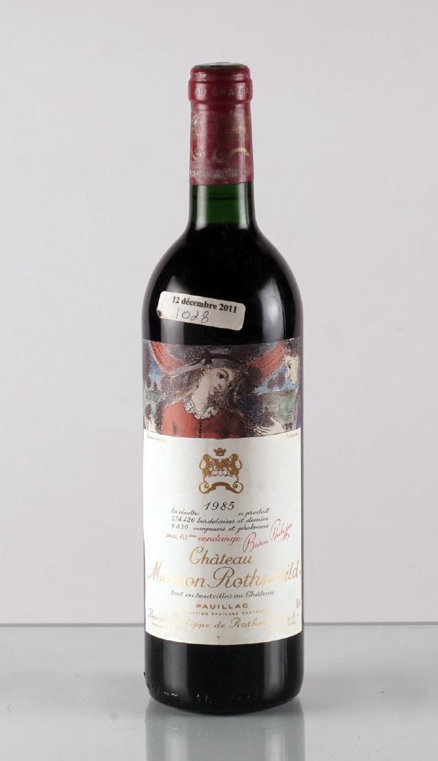 Château Mouton Rothschild 1985 - 1 bouteille