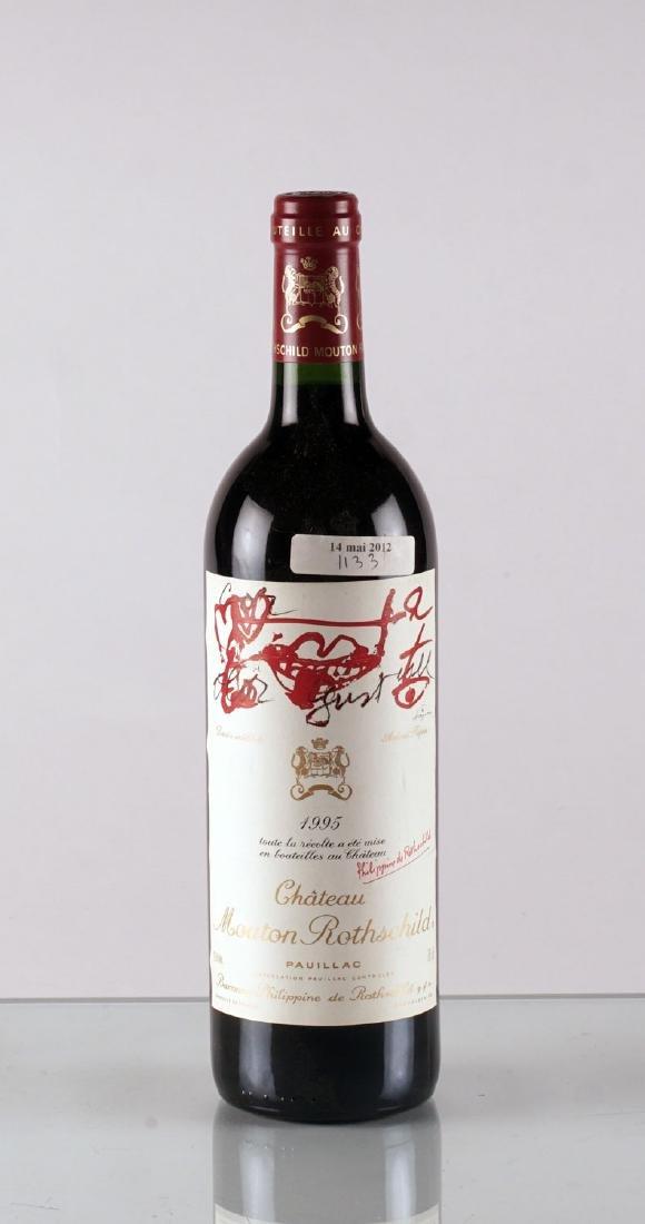 Château Mouton Rothschild 1995 - 1 bouteille