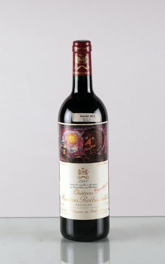 Château Mouton Rothschild 1998 - 1 bouteille