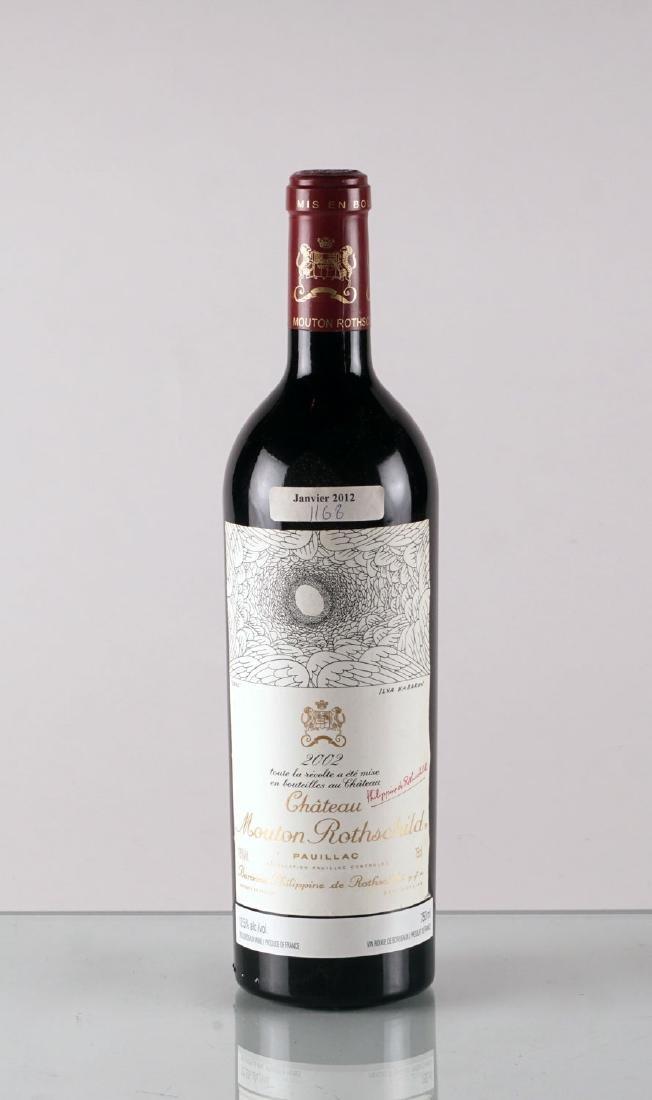 Château Mouton Rothschild 2002 - 1 bouteille