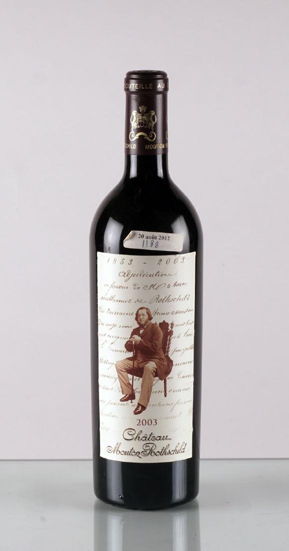 Château Mouton Rothschild 2003 - 1 bouteille
