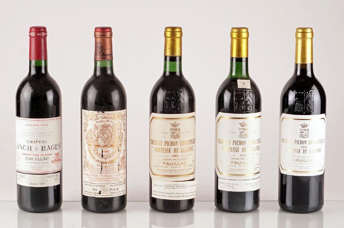 Sélection de Vins de Pauillac - 5 bouteilles