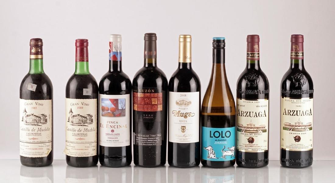 Sélection de Vins d'Espagne - 8 bouteilles