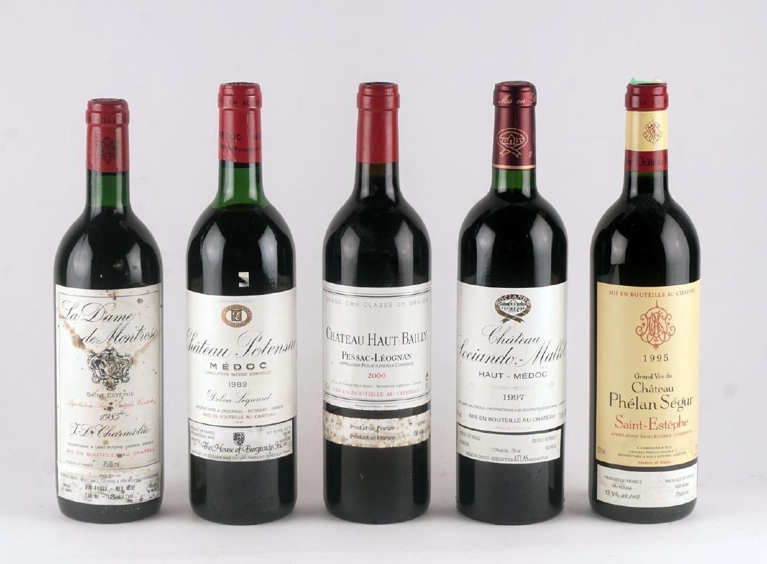 Sélection de Vins de Bordeaux - 5 bouteilles