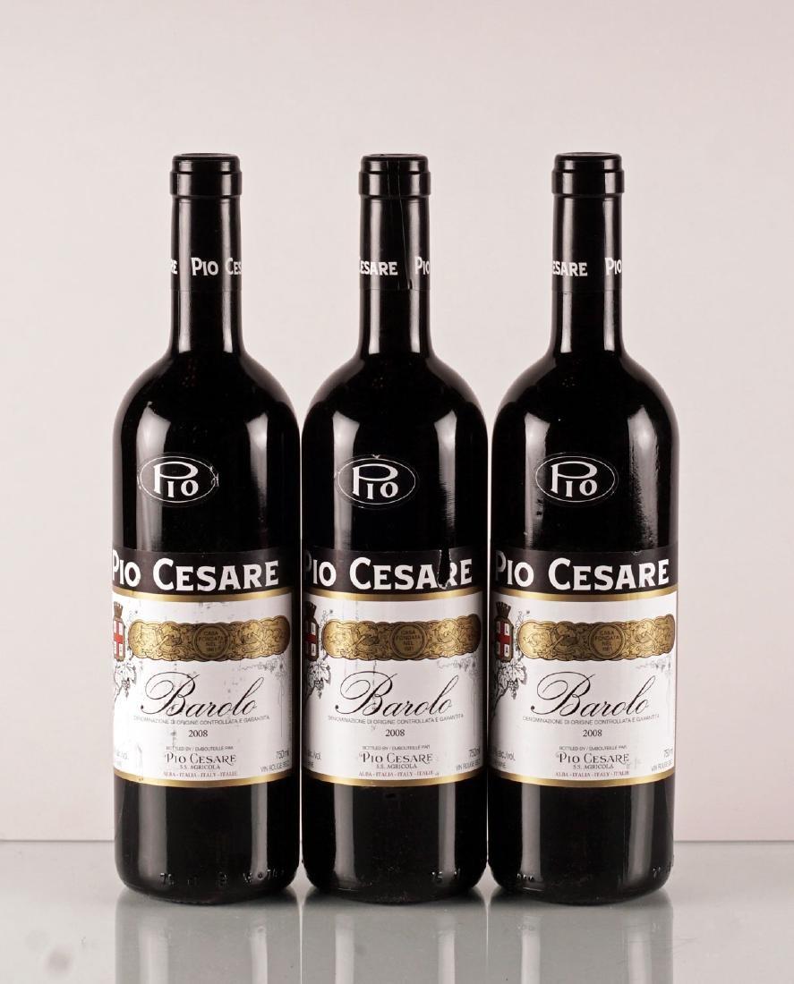 Pio Cesare Barolo 2008 - 3 bouteilles
