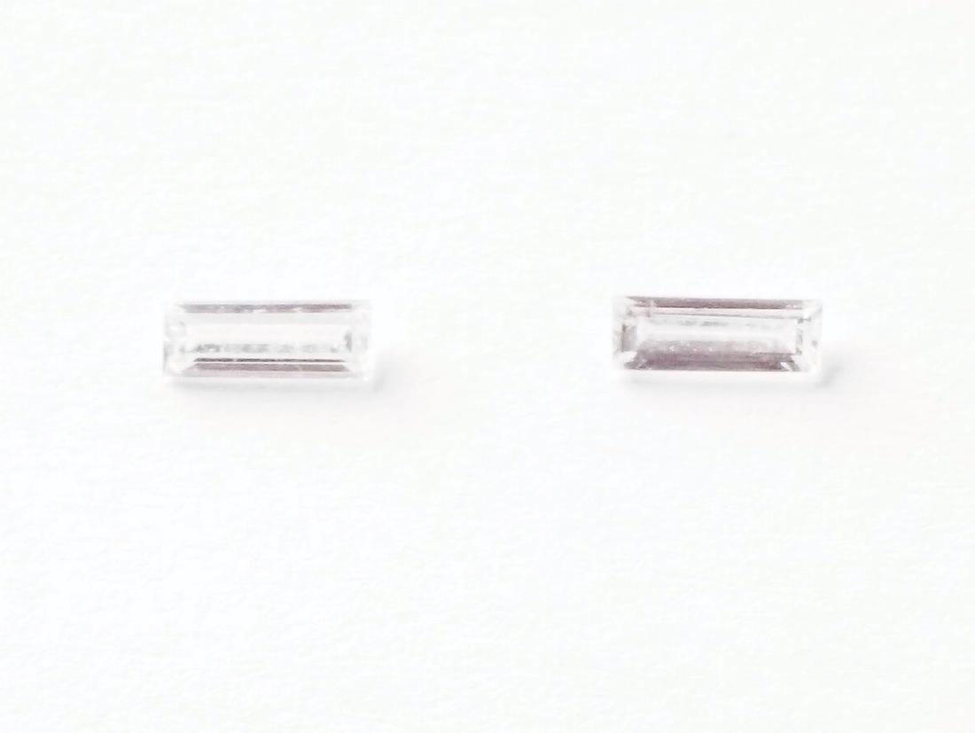 2 DIAMONDS 0.17ct VS1
