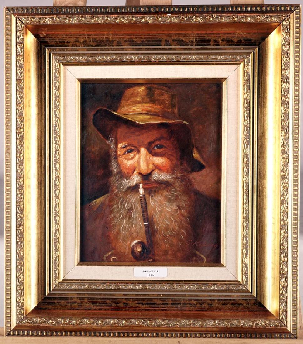 KUBOTH G., Pipe smoker