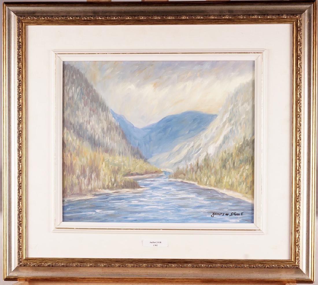 STUART, James W. (1951-), Landscape