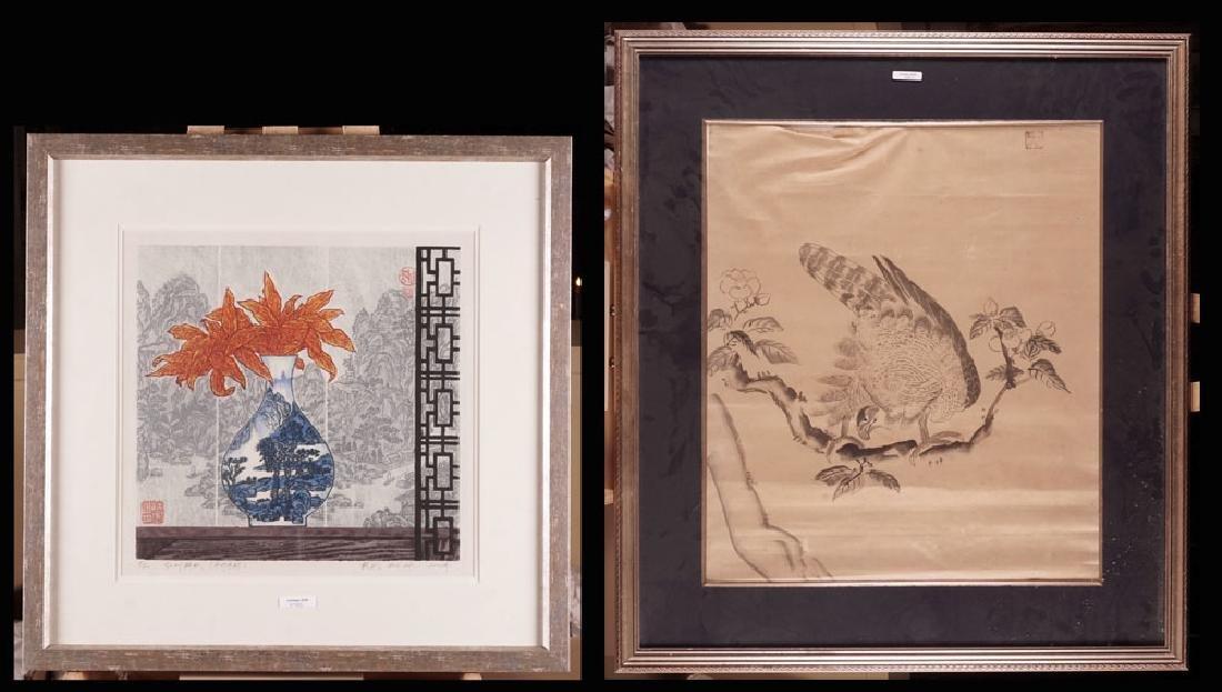PRINTS - set of two woodcuts
