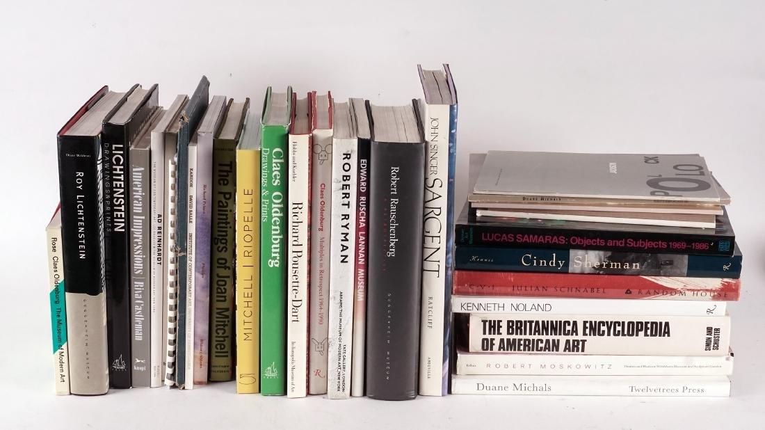 ART INTERNATIONAL – monographies et catalogues – USA