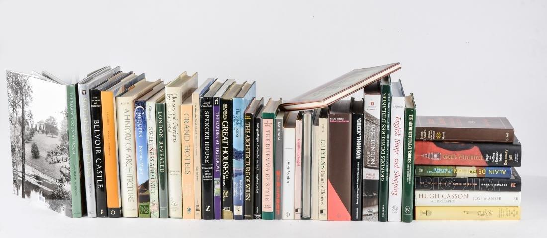 ARCHITECTURE ET URBANISME – ROYAUME-UNI (37 livres)