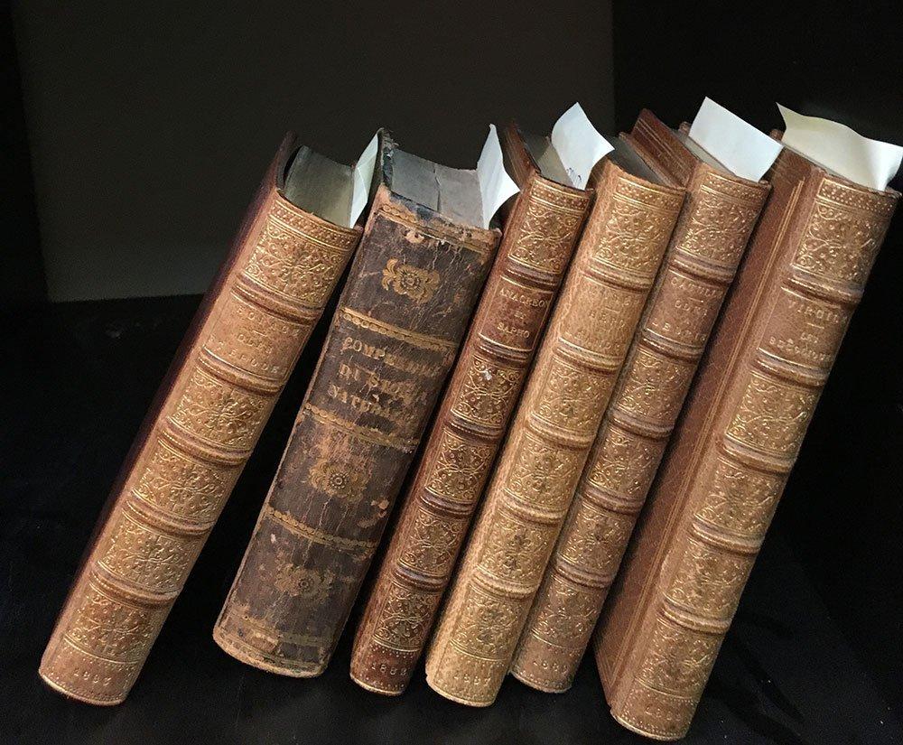 SMALL SIZE BOOKS (6 books FR , EN , & IT)