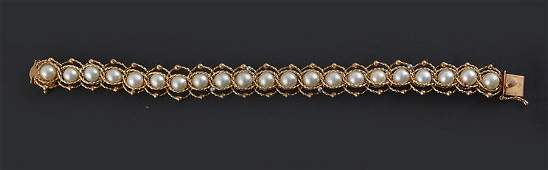 14K & 10K GOLD AND PEARLS 14K