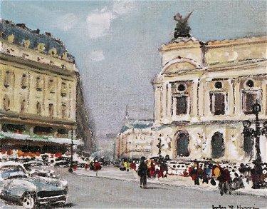 "HERVÉ, Jules René (1887-1981) ""Opéra,"
