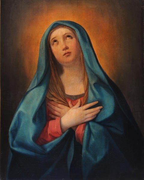 21: Circle of Guido RENI (1575-1642) The Virgin in pray