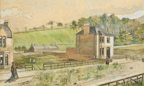 16B: CALVERT, Edwin Sherwood (1844-1898)  The walk  Wa