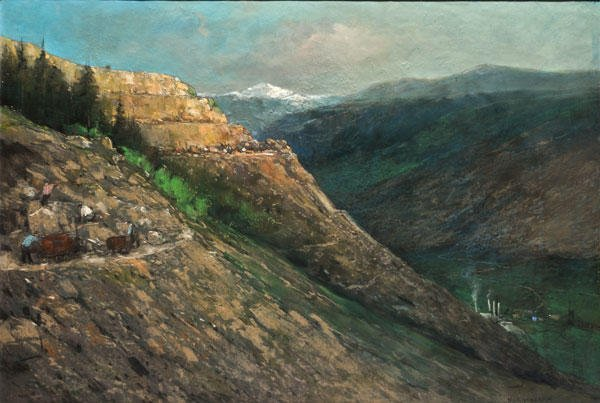 19: HEIJENBROCK, Herman (1871-1948)  Mounts  Pastel on