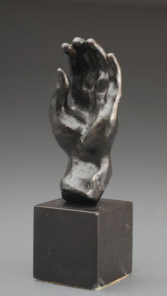 3: Auguste RODIN (1840-1917) « Main No. 19 » Bronze Sig