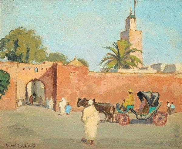 """13: DROUET-REVEILLAUD, Suzanne (1885-1970) """"Petite Port"""