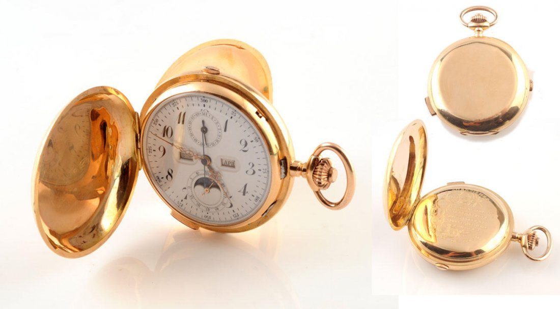 1013: EXCEPTIONAL WINDING POCKET WATCH