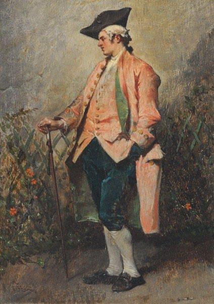 17: FAUVELET, Jean-Baptiste (1819-1883) - Connoisseur