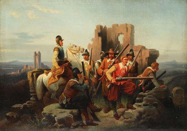 3: BÜHL DÜFREWORF, A. P. (?) (Active 19th c.) Knights